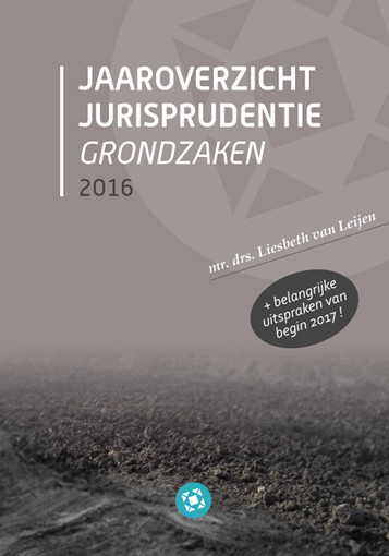 Boek Jaaroverzicht Jurisprudentie Grondzaken 2016